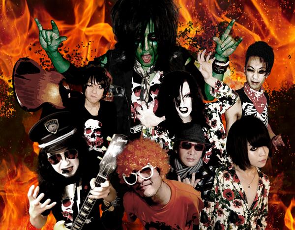 地獄ヘルズ 『続.地獄のロックンロールファイヤー』ツアー