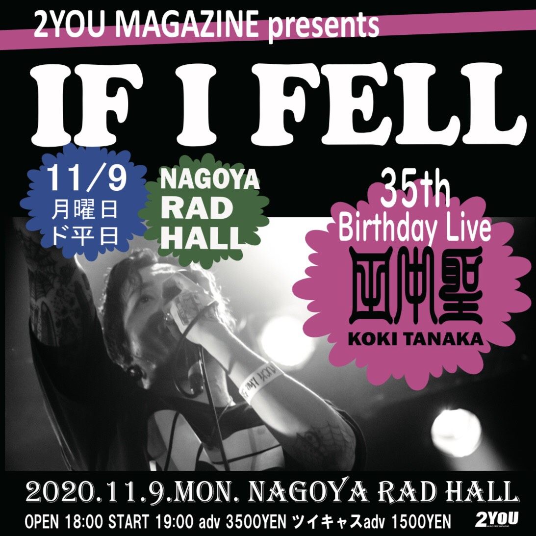 IF I FELL 35th Birthday Live 田中聖