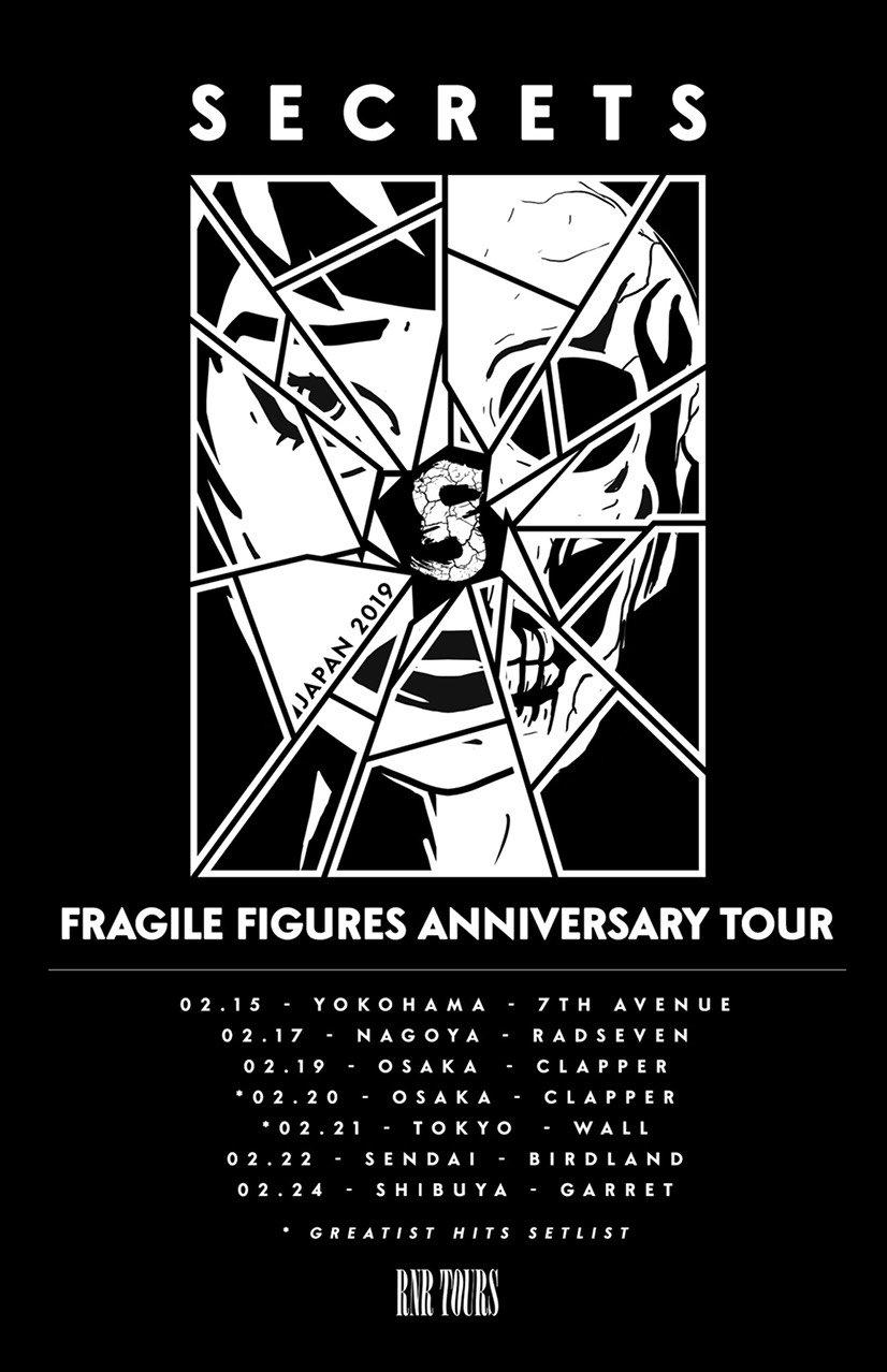 【RNR TOURS Pre. SECRETS Japan Tour 2019】